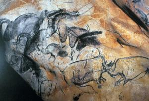 (1-12)aurochshorsesandrhinocerosesinthecaveatchauvet(wallpaintings)1323909580977