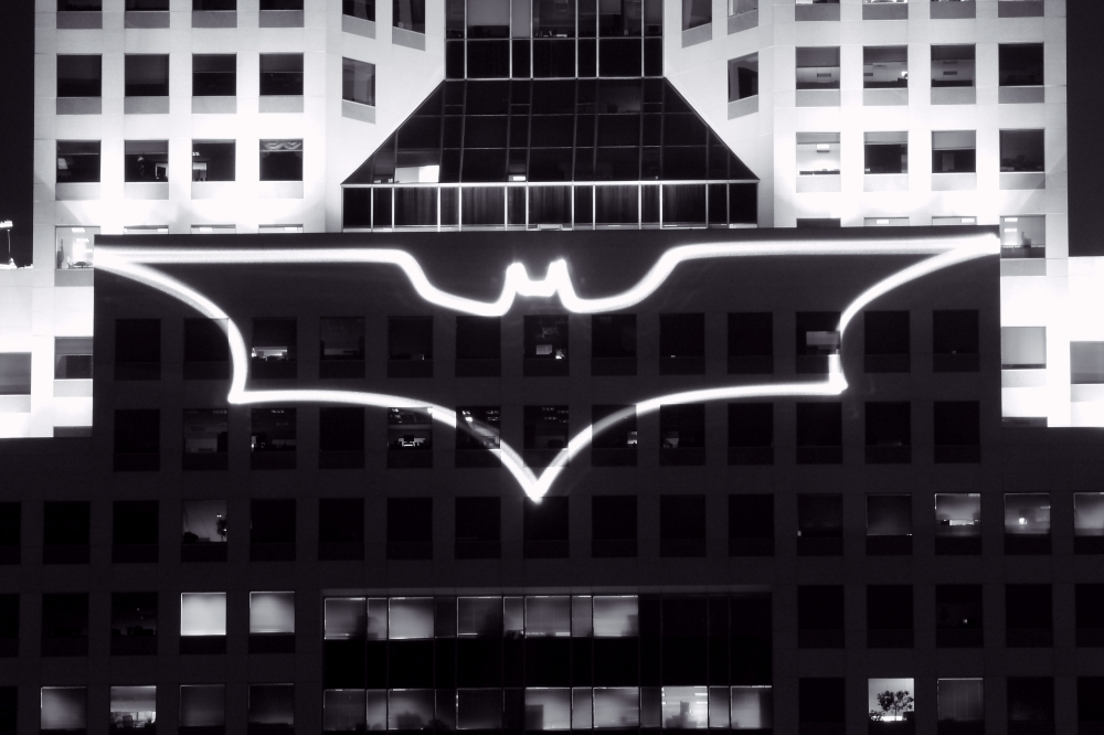 batsignal_at_highmark_building